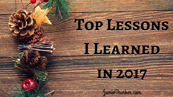 Top Lessons I Learned in2017